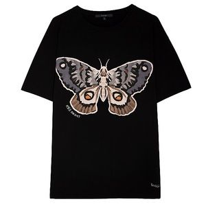 Authentic Gucci x Kris Knight Rare Butterfly Tee